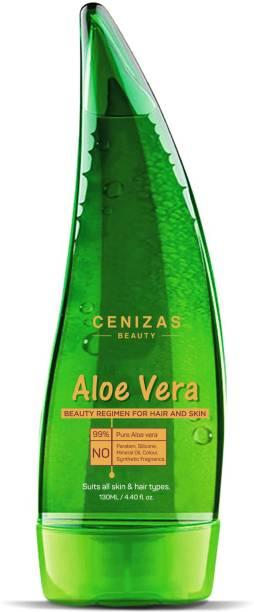 CENIZAS Aloe Vera Multipurpose Gel for Skin and Hair, 130ml