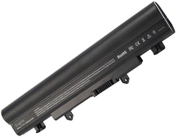 Lapix E5-572G-528R E5-471G-5496 E5-571-50DZ E5-572G-58PP E5-571G-542J E5-571P-57E0 V3-572G-51TJ E5-471G-58JP E5-571-53KB E5-572 6 Cell Laptop Battery