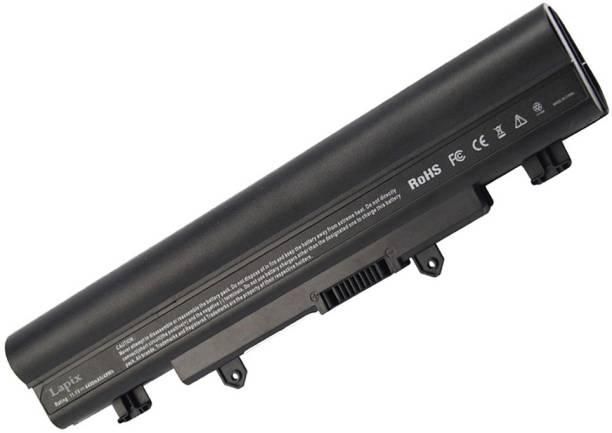 Lapix E5-572G-591H E5-571-56YC E5-571G-59EJ E5-571PG-78S7 E5-572G-78HY V3-572G-59TB E5-571-611P E5-571G-611H E5-411-C23M E5-572G-528R 6 Cell Laptop Battery