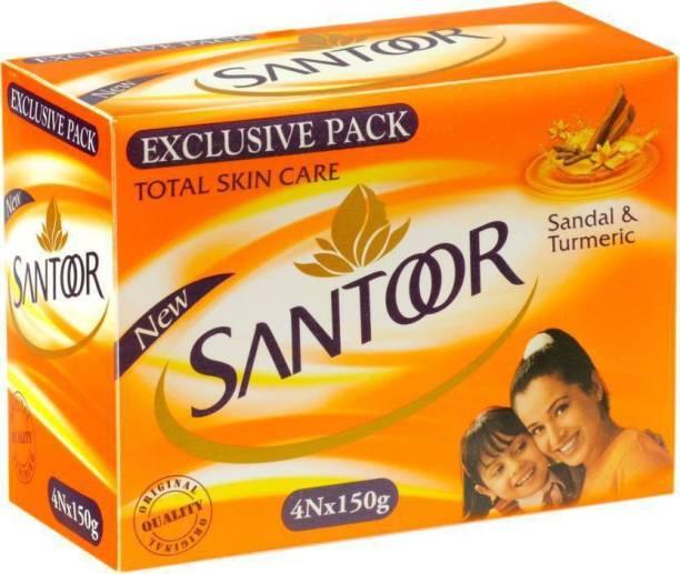 santoor Sandal & Turmeric