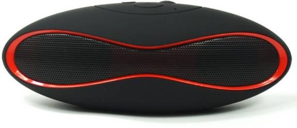 Rexter Mini Portable Wireless Bluetooth Speakers Hifi Boombox Audio Music Player Subwoofer Rugby Ball Speaker for Phone Car 3 W Bluetooth Speaker
