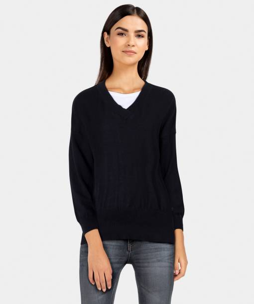 Sweaters Pullovers - Buy Sweaters Pullovers Online for Women at Best ... 1851a36f2