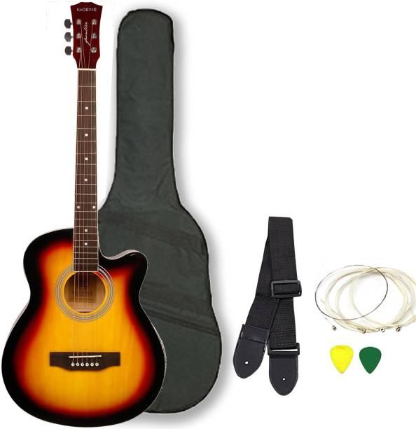 KADENCE KAD-FNTR-SUN-C Acoustic Guitar Linden Wood Rosewood Right Hand Orientation