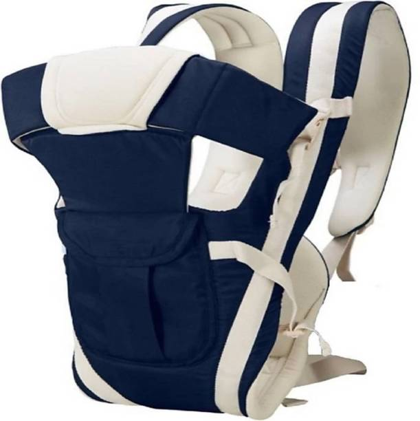 BRANDONN Baby 5 In 1 Carrier Bag With Different Positions Baby Carrier (Navy, Front Carry Facing Out With Belt) Baby Carrier