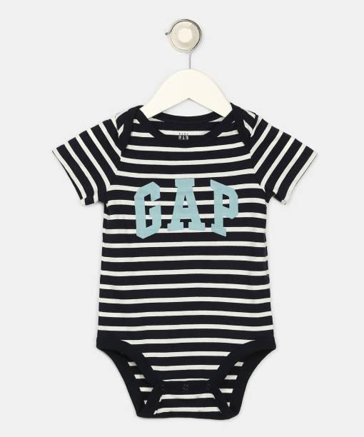 GAP Baby Boys Blue Bodysuit