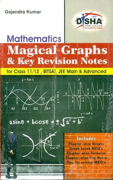 Magical Graphs and Key Revision Notes for Mathematics Class 11/ 12, Bitsat, Jee Main & Advanced