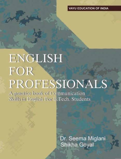 English for Professionals A Practice Book of Communication Skills in English