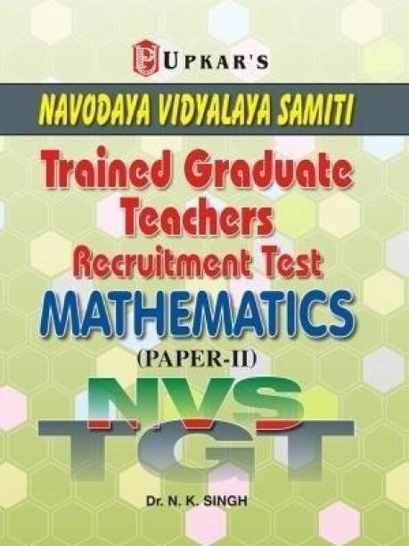 Nvs Tgt Navodaya Vidyalaya Samiti Trained Graduate Teachers Recruitment Test Mathematics (Paper - II)
