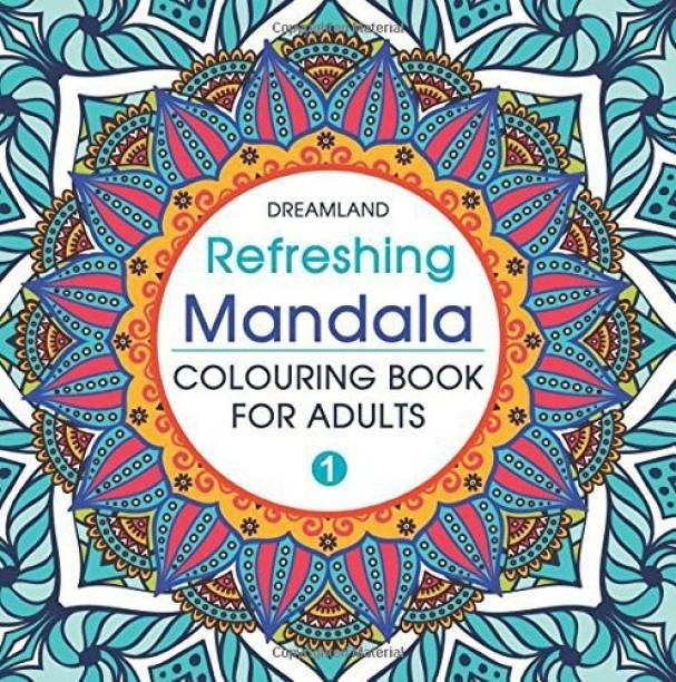 Refreshing Mandala- Colouring Book for Adults Book 1