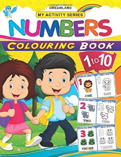 My Activity- Numbers Colouring Book