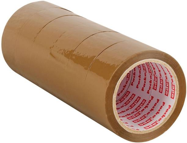 Hippo 2 inch or 48mm x 45 meters Self Adhesive Brown Packing tape (Manual)