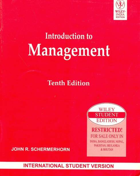 Introduction to Management, 10 Ed, Isv