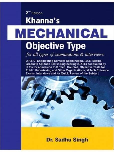 Khanna's Mechanical Objective Type 2 Edition