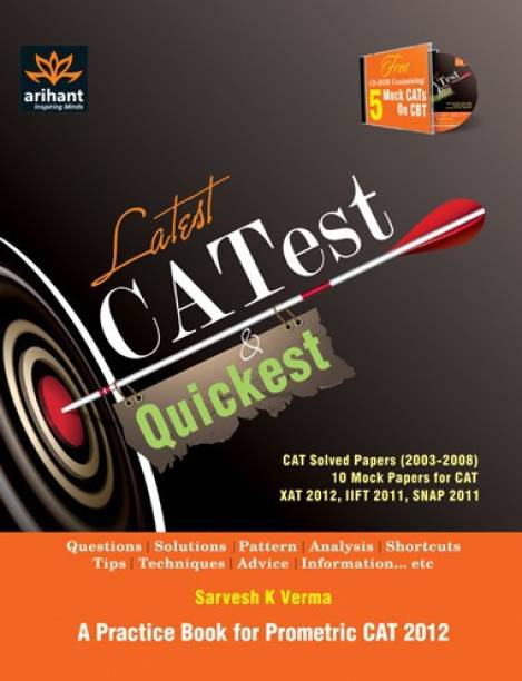 Latest, Catest & Quickest a Practice Book for Prometric Cat 2011