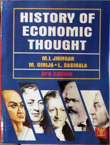 History of Economic Thought 3/E