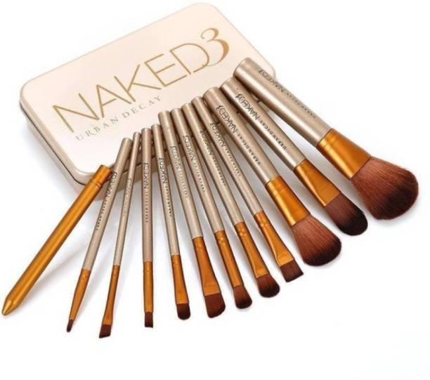 Urban Decay naked 3 makeup brush set of 12