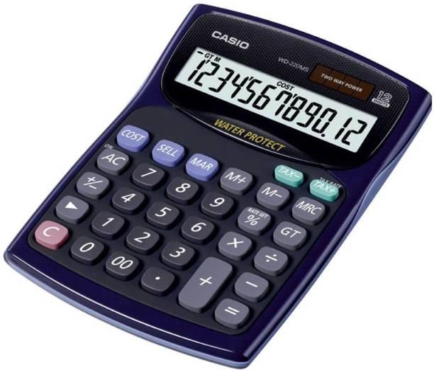 CASIO WD-220MS-BU Desktop - Std Basic  Calculator
