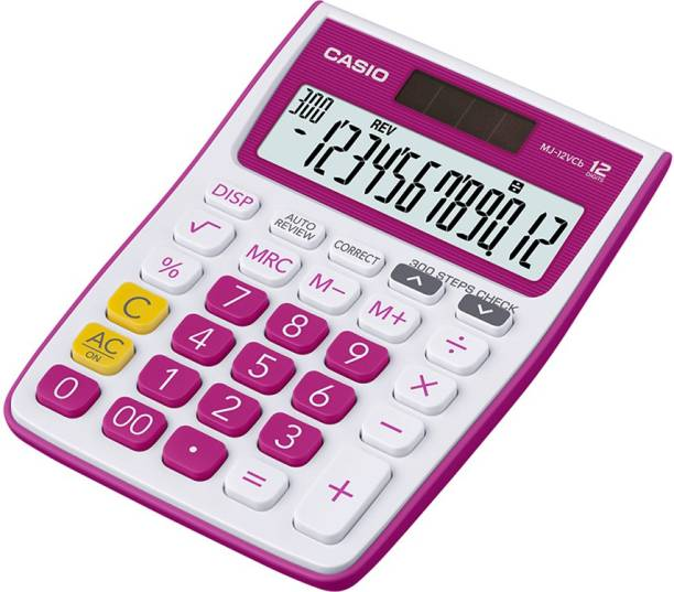 CASIO MJ-12VCB-RD Desktop Basic  Calculator