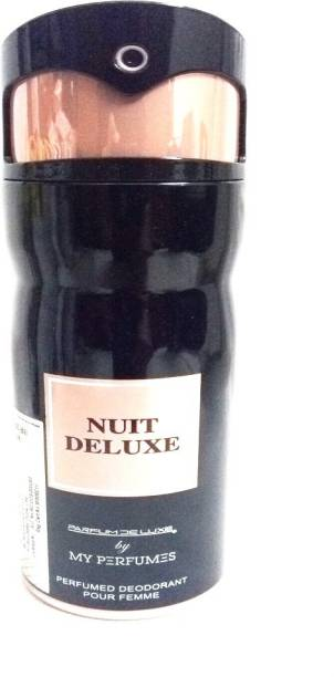 PARFUMDELUXE NUIT DELUXE Deodorant Spray  -  For Women