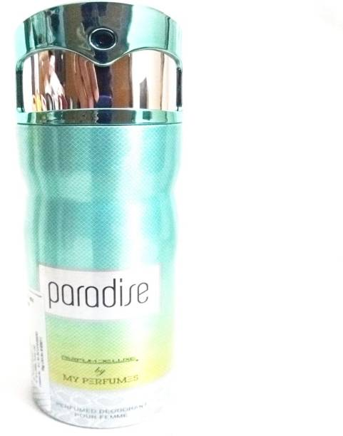 PARFUMDELUXE PARADISE Deodorant Spray  -  For Women