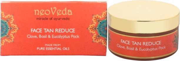 NeoVeda Face Tan Reduce Clove Basil & Eucalyptus Pack