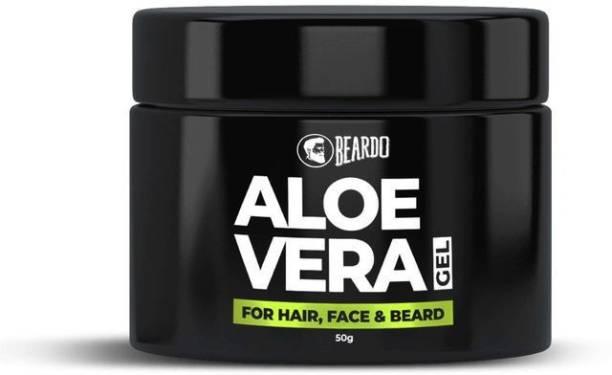 BEARDO Aloe Vera Gel For Hair, Face & Beard