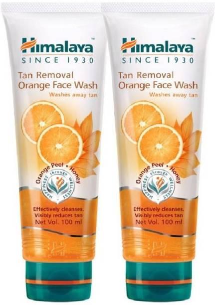 HIMALAYA tan removal Orange  2pcs Face Wash