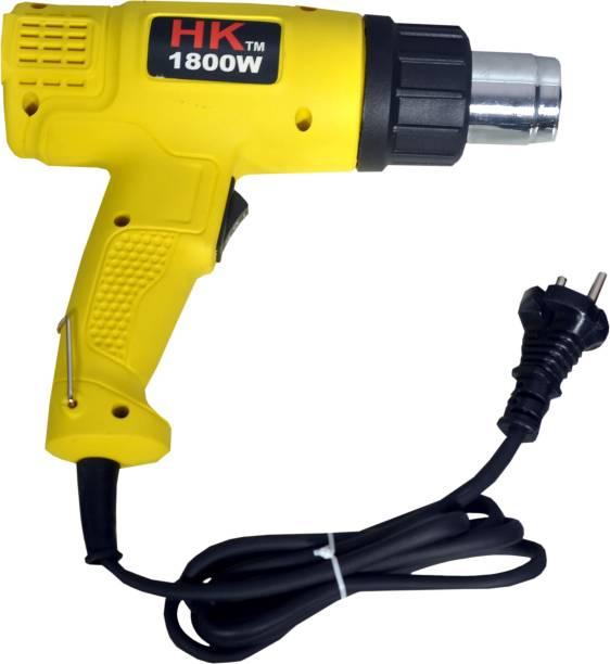 HK Dual Temperature, Industrial Hand Held Portable Small Heat Tool, Hot Air Wind Blower, Heat Shrink Gun, Paint Remover 1800 W Heat Gun
