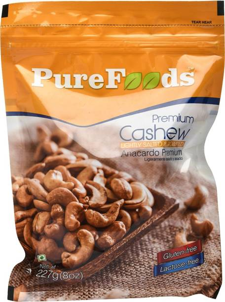 PureFoods Roasted & Salted Cashews