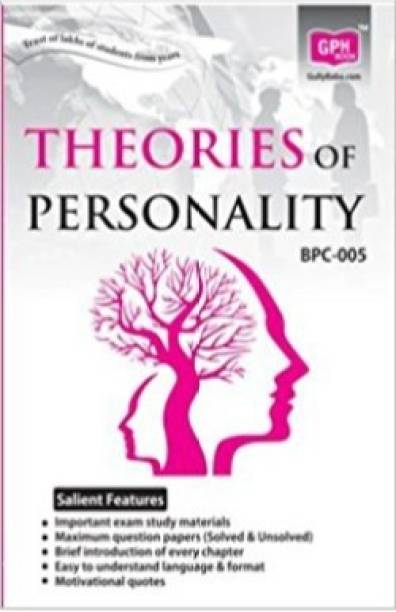BPC5-Theories Of Personality-IGNOU Help Book Guide For BPC5 ( English Medium | GPH Publications )