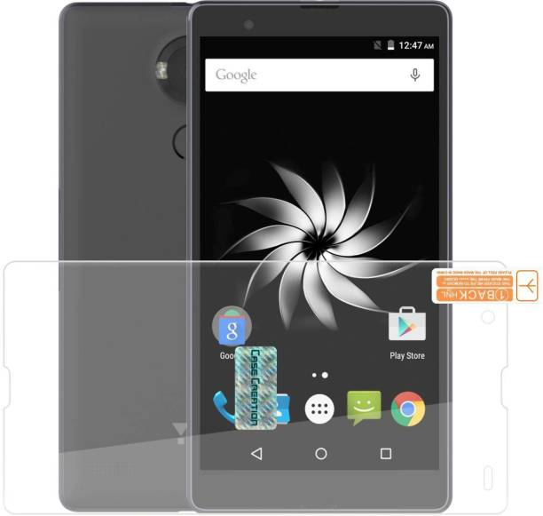 Case Creation Tempered Glass Guard for YU Yureka Note