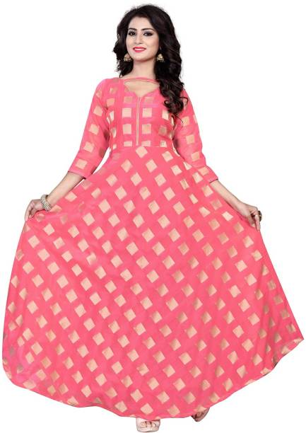 af3c8ceea78 Pink Gowns - Buy Pink Gowns Online at Best Prices In India ...
