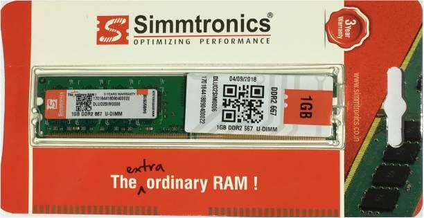 simtronics 667 DDR2 1 GB (Single Channel) PC (simmtronics 1gb ddr2 667 destop ram)