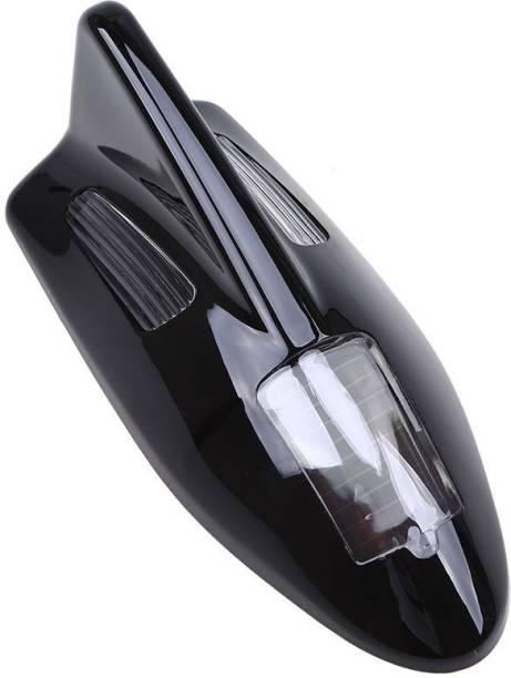 Roy Imaging Mini Solar LED Roof Spoiler Shark Fin Car Antenna Flashing Light Car Decorative Lights Modifications LED Light Car Fancy Lights