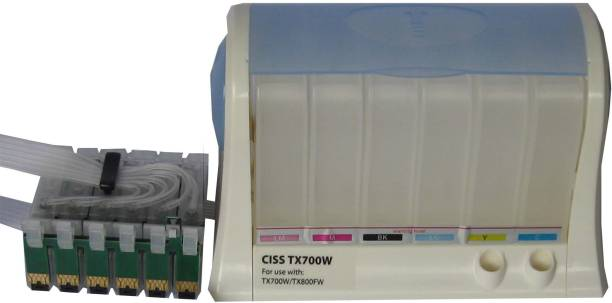 Max CISS TX700W For EPSON Stylus Photo TX700W/TX800FW without Tri Color Ink Cartridge