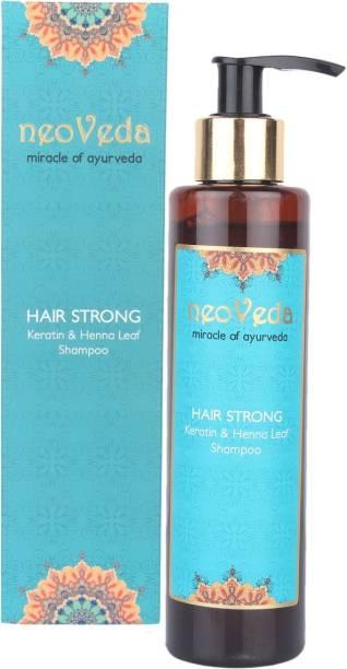 NeoVeda Hair Strong Keratin and Henna Leaf Shampoo
