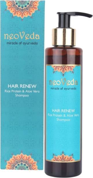 NeoVeda Hair Renew Rice Protein & Aloe Vera Shampoo