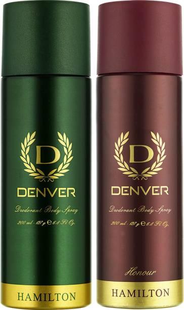 Denver Hamilton & Honour Deo Combo (Pack of 2) Deodorant Spray - For Men