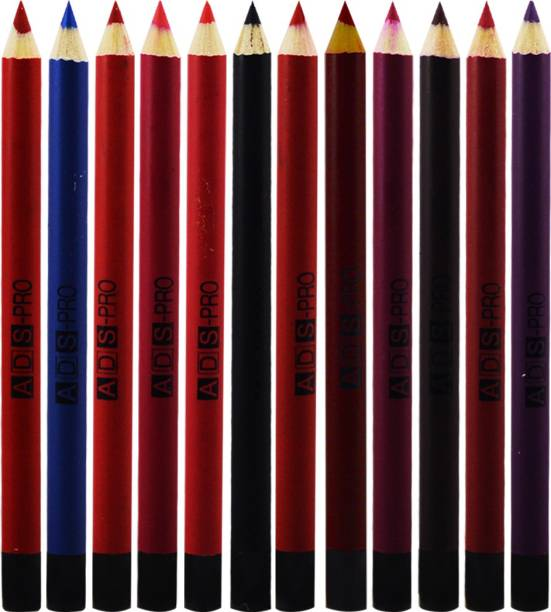 ads Eye & Lip Liner Pencil Pack of 12