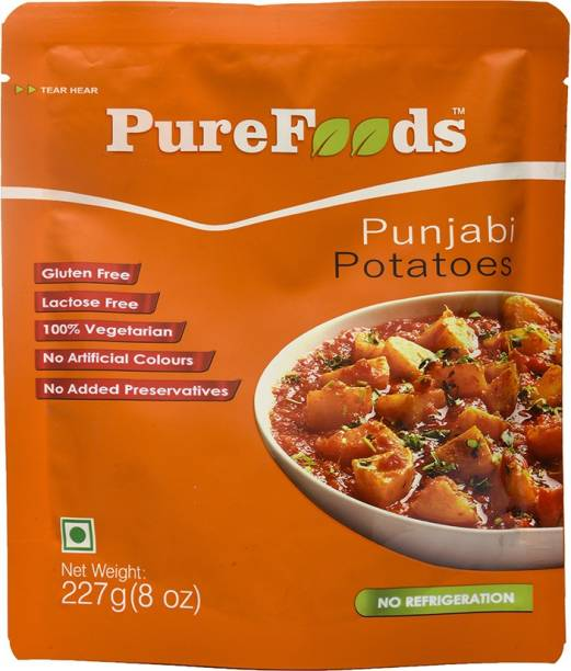 PureFoods Punjabi Potatoes Gluten and Lactose Free 227 g