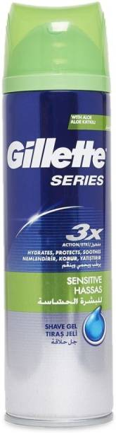GILLETTE Series 3X Sensitive Shave Gel