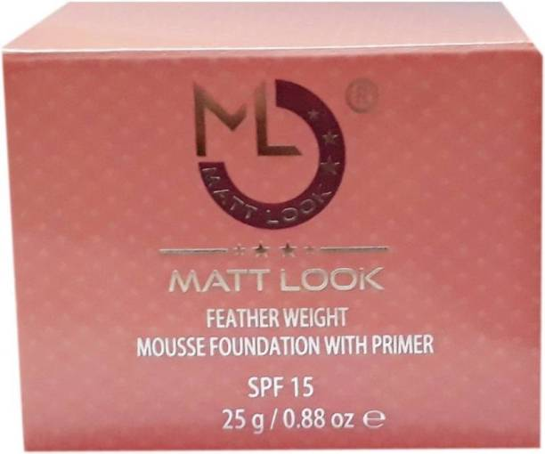 Mattlook MF -01 Feather Weight Mousse Foundation with Primer_Natural Foundation