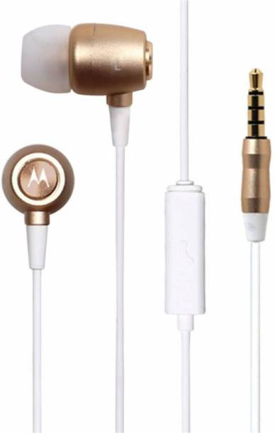 MOTOROLA earbuds metal studio Wired Headset