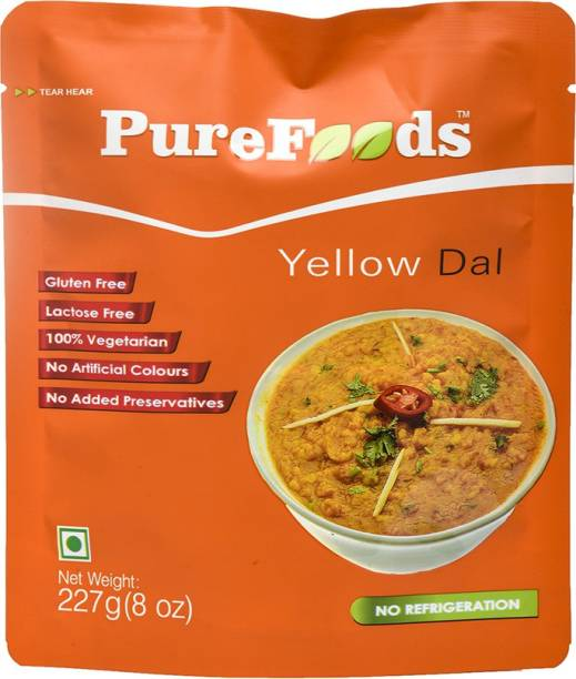 PureFoods Yellow Dal Gluten and Lactose Free 227 g