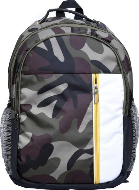 eeaad4164a Good Friends Canvas Military Waterproof School Bag