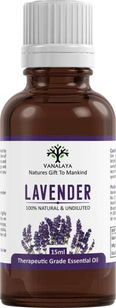 Vanalaya Lavender essential oil Pure and Natural therapeutic grade