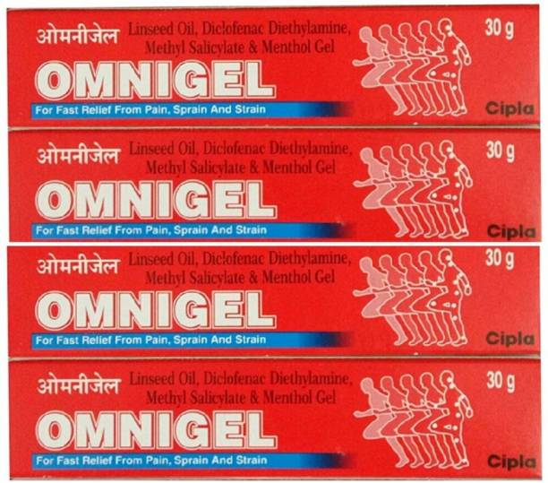 Cipla Omnigel for Fast Relief from Pain, Sprain and Strain Gel