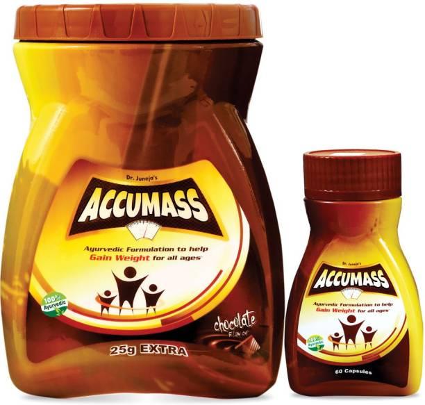 Accumass Granules 525gm & 60 Capsules