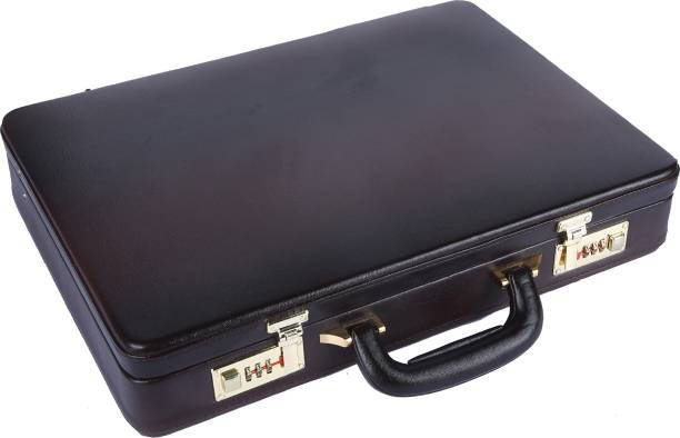 2c55795b1d Hammonds Flycatcher Leatherette premium briefcase Large Briefcase - For Men    Women