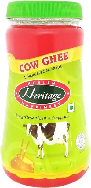 Heritage Cow Ghee 500 ml Plastic Bottle